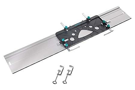 Wolfcraft 6910000 - FKS 115 - Guía soporte de corte para sierra circular 1150 x 220 x 3 mm