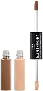 NYX Sculpt & Highlight Face Duo - Caramel, 0.34 oz.