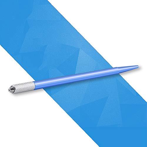 Ssg Microblading machine de tatouage permanent Outils de tatouage Maquillage Sourcils Tattoo Pen manuelle Poignée de Cils Mini Outils manuels Nouveau (Color : Blue)