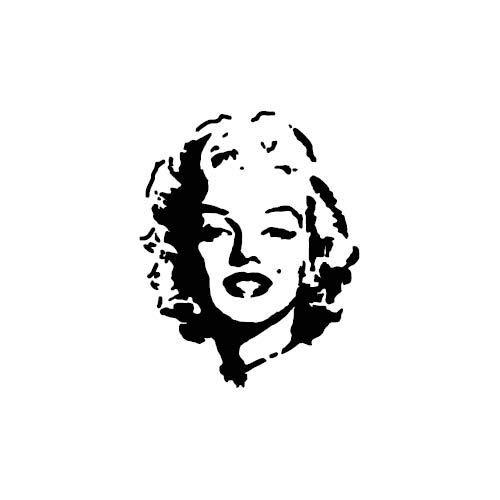 Adesivi Murali - Wall Stickers -Marylin Monroe - Donna famosa ritratto