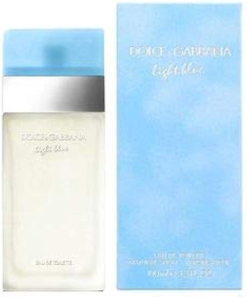 Dolce & gabbana light blue donna eau de toilette vapo 100 ml