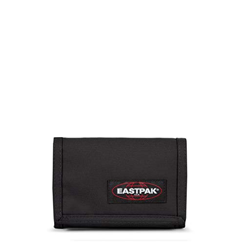 Eastpak Crew Single Geldbörse, 13 cm, Schwarz (Black)