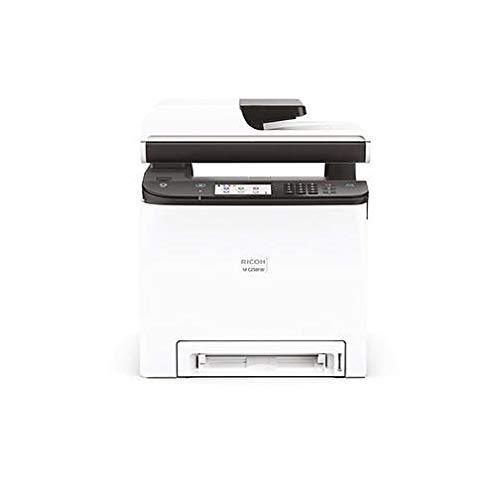 Ricoh M C250FW Impresora láser Color multifunción (A4, 4-in-1, Impresora, copiadora, Scanner, Fax, D-ADF, WLAN, NFC)
