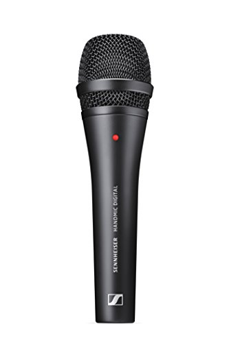 Sennheiser Handmic Digital Dynamisches Handmikrofon, schwarz