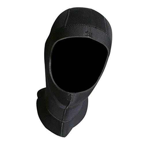 SM SunniMix Neoprenhaube Tauchhaube 5mm Neopren Kofhaube mit Entlüftungsloch für Damen und Herren - M