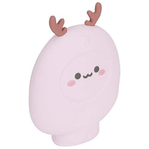 Mini borsa per acqua calda in silicone Borsa per riscaldamento a microonde per scaldamani a microonde per scaldamani per ufficio a casa(Pink)