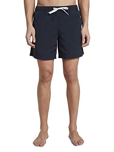TOM TAILOR Herren Swimshorts Boardshorts, 10668-Sky Captain Blue, L