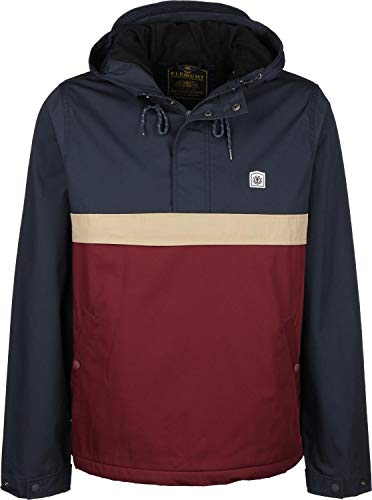 Element Herren Jacke Barrow 3Tones (Port), Größe:L