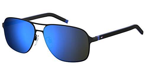 Tommy Hilfiger TH 1719/F/S gafas de sol, MTBLKBLUE, 62 para Hombre