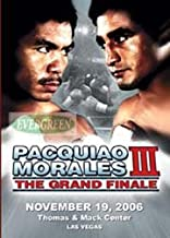 DVD Grand Finale 3 Manny Pacquiao Vs. Morales