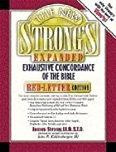 New Strong`s Expanded Exhaustive Concordance of the Bible Red Letter Edition [HC,2001]