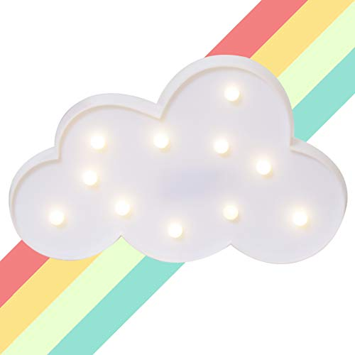 LED Nube Modelado Lámparas Luces nocturnas - Iluminación infantil nocturna Lámparas de...
