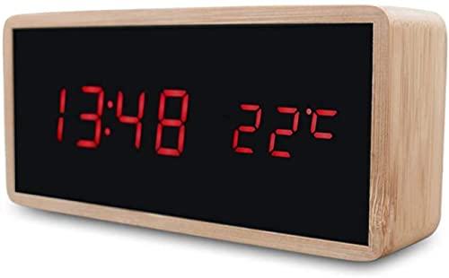 dh-9 Reloj Despertador led Reloj de Pared Digital Relojes de Alarma mesita de Noche Reloj Despertador para niños Reloj Despertador Inteligente Reloj Despertador de proyección Relojes Digitales