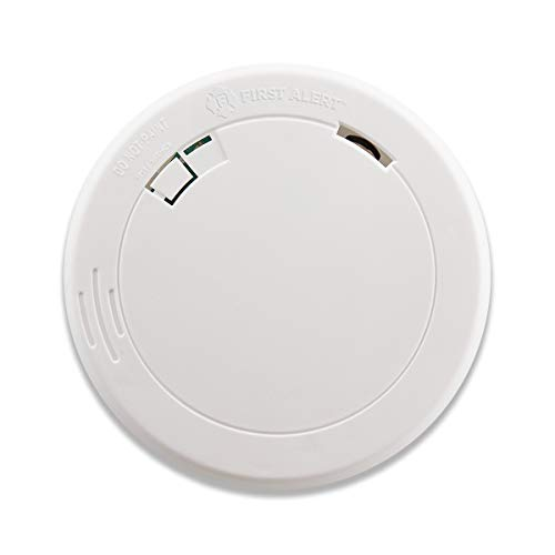 First Alert PR700 Battery-Operated Photoelectric Smoke Alarm, 1 Pack