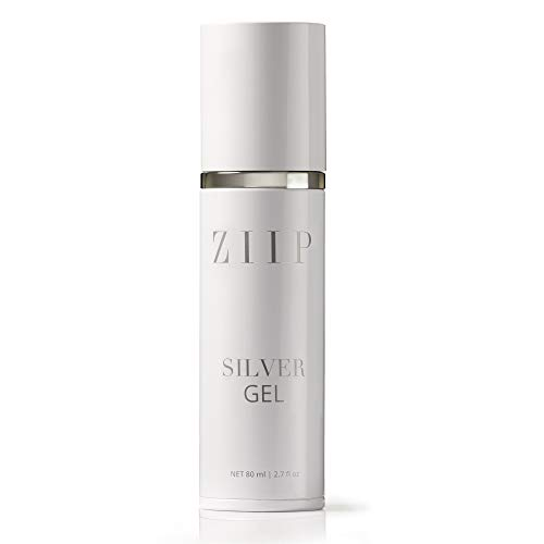 ZIIP Silver Conductive Gel with Hylauronic Acid. Hydrating & collagen boosting face & neck skin treatment for use with the ZIIP Facial Device