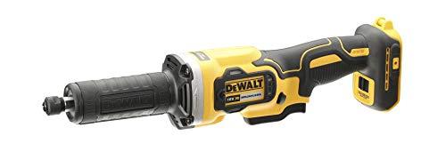 DEWALT DCG426N-XJ - Amoladora recta sin escobillas XR 18V portafresas 6mm, velocidad variable 32.000 RPM sin cargador/batería