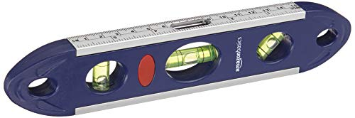 Amazon Basics Magnetische Torpedo-Wasserwaage, 22,9 cm