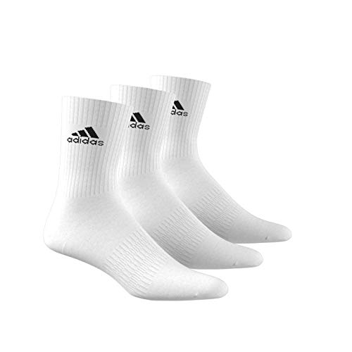 adidas Performance CUSHIONED CREW - Calcetines de tenis unisex (18 pares) blanco 46-48