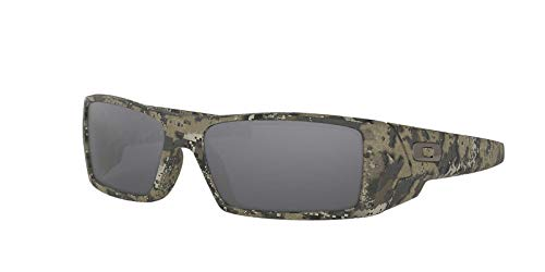 Oakley Mens Oakley Hombres Oo9014 60 Gascan Marrón/Negro Gafas de sol 60mm 60