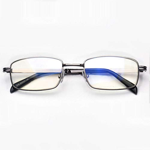 Leesbril, opvouwbare draagbare ultralichte stralingsbescherming, antiblauw licht, anti-vermoeidheid leesbril, gemakkelijk mee te nemen, uniseks.
