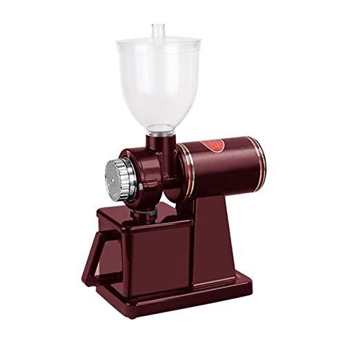 Fenteer Molinillo de café nueces Granos Especias Molinillo para Cocina Bar Tienda Oficina - Rojo