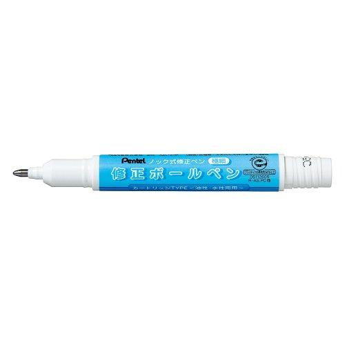 ぺんてる 修正ボールペン用カートリッジ XZLR12-W 10個セット