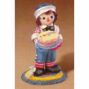 Raggedy Ann and Andy - Serving Up A Helping Of Kindness -  Enesco, 953156