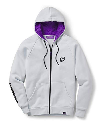 Twitch Ice-Zipper-Kapuzenpulli M