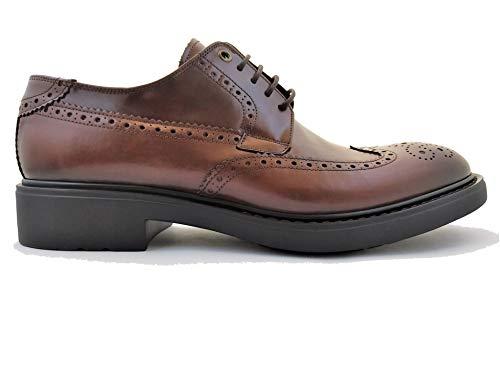 Luis Gonzalo 1966 Zapatos de Hombre Blucher 7434H (Cuero, Numeric_43)