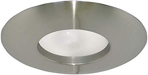 Design House 519546 Wide Recessed Lighting Trim 6 Satin Nickel product image