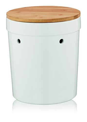 Kela Salena Keramik weiß 23,0cm 20,0cmØ, 12068
