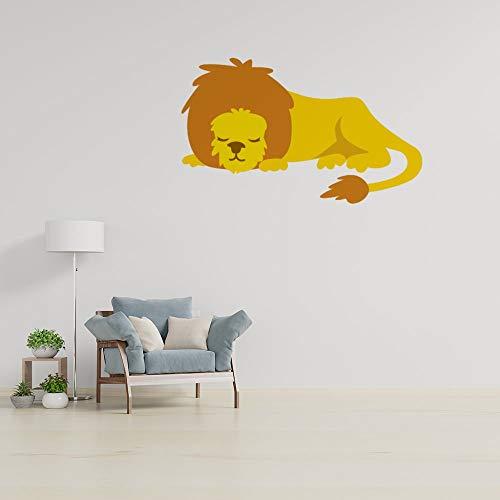 Inspirational Quotes Wall Decals Word Wall Sticker Quotes Monogram Stickers Inspirational Saying Wallpaper Home Decor Lion Lying Down Drawing Wing PVC Wall Sticker Decal for Living Room Bedroom