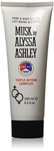 Musk by Alyssa Ashley - Triple Action Complex - Loción hidratante de manos y cuerpo - 250 ml