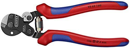 KNIPEX Drahtseilschere auch für hochfeste Drahtseile (160 mm) 95 62 160