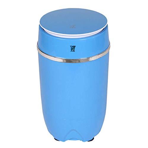 AFDK Mini-Maschine, Funktion tragbare Kinder Washer Spin Cycle Einstellbare Timer Wasserdicht bei IPX4 Norm 3,5 kg Kapazität Geeignet für Wohnung Reisen Camping Quarters,Blau