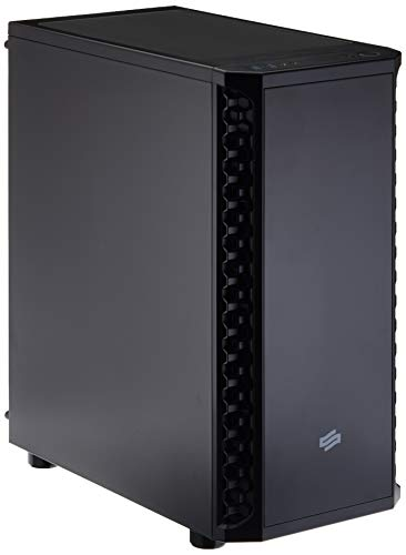 SilentiumPC Signum SG1M Desktop Schwarz - Computer-Gehäuse (Desktop, PC, Schwarz, ATX,EATX,Micro ATX,Mini-ITX, 16,1 cm, 32,5 cm)