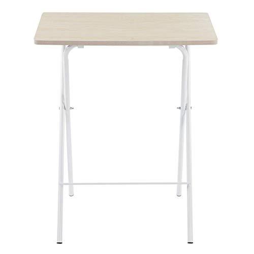 Mesa plegable multifunción para el color blanco del arce de los pasillos universitarios