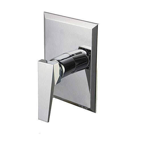 Clever 99719 Robinet de douche monocommande pour encastrer 1 voie, chromé