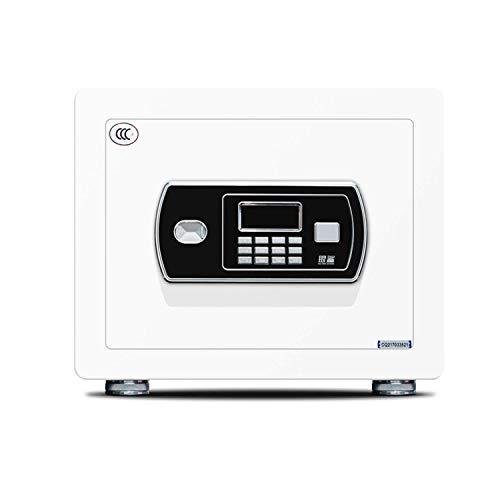 ZHIYI- Caja de Seguridad electrónica con contraseña, Llave Inteligente, de Acero, para la Oficina, para el hogar, antirrobo, multifunción, Mini Cierre Invisible, Doble Capa, 30 cm