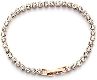 CUTIHO 1 PC Fashion Women Charm Max 76% OFF Bracelets Crystal Austria Max 60% OFF Shiny