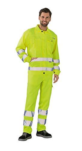 Bundjacke Arbeitsjacke von Planam Warnschutz Gelb 46