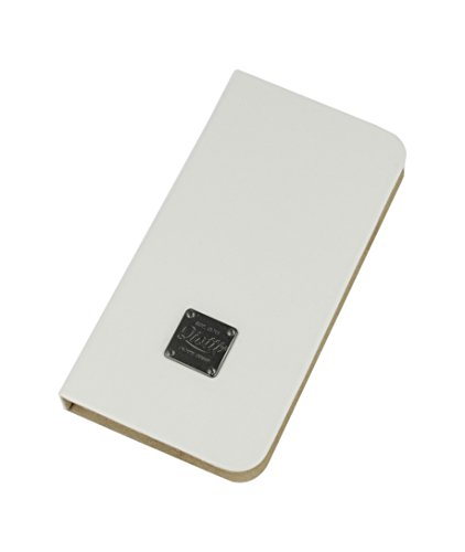 QIOTTI QP-B-0100-02-SGS4 Q.Book Carrier Premium Echtleder 2-in-1 abnehmbare Schutzhülle für Samsung Galaxy S4 Booklet weiß