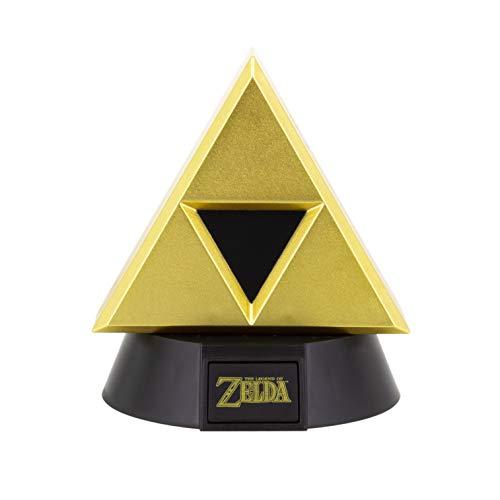 The Legend of Zelda Gold triforce 3D Leuchte Icon Light goldfarben, bedruckt, aus Kunststoff, mit LED's.