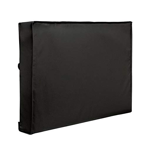 Wetour Cubierta Universal para televisor (Impermeable, Protector de Pantalla para televisores de 22 a 70 Pulgadas, LED, LCD y Plasma), Color Negro