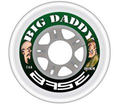 Base Indoor Rolle Big Daddy 74A 68mm - 4 Stück