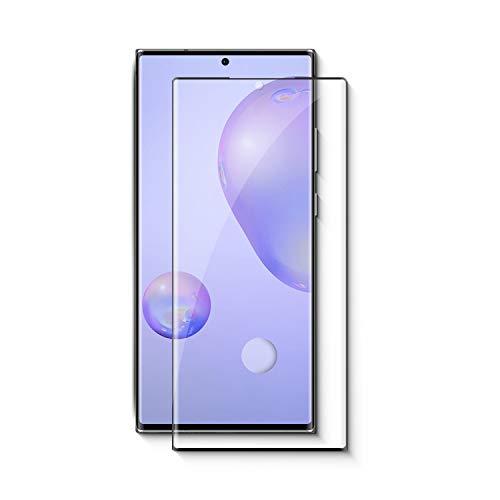 ZIVITE Samsung Galaxy Note 20 Ultra Premium Anti Fingerprint Edge to Edge Full Glue Tempered Glass Screen Protector for Samsung Galaxy Note 20 Ultra - Black