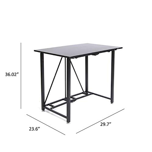 Minimalist Foldable Computer Desk With Steel Frame For Home Office ... | 500x500