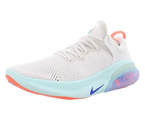 Nike Men's Joyride Run Flyknit Running Shoes (11, White/Racer Blue/Platinum Tint)