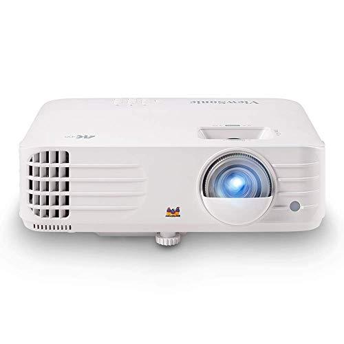 ViewSonic PX701-4K, proyector para Juegos 4K UHD de 3.200 lúmenes 5 ms y Alta frecuencia de actualización de 240 Hz, corrección Trapezoidal Vertical automática, corrección Trapezoida