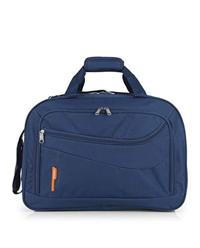 Gabol - Week | Bolso de Viaje Grande de Tela de 50 x 35 x 23 cm con Capacidad para 40 L de Color Azul